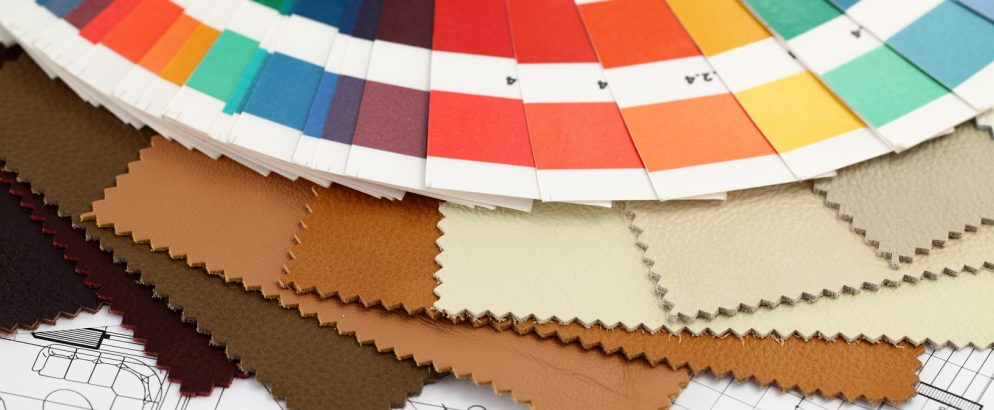 trendy colors TRENDY COLORS TO USE IN 2017 INTERIOR DESIGN PROJECTS bigstock palette of colors designs for 16389629 994x410