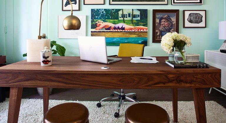 home office design Mid-Century Modern Home Office Design cover2 768x418