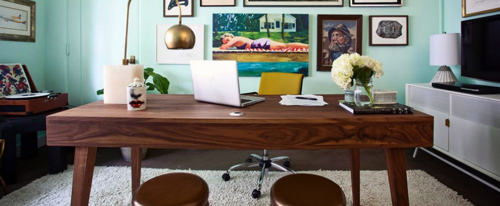 home office design Mid-Century Modern Home Office Design cover2 994x410