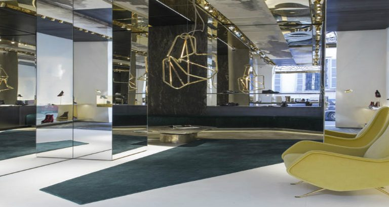 Premiata Milano: A one-of-a-kind fashion boutique designed by Vincenzo De Cotiis Architects Premiata Milano Premiata Milano: A Fashion Store Designed by De Cotiis Architects premiata milano 768x410