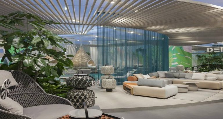 SALONE DEL MOBILE 2017 – A HIDEAWAY BEACH CONCEPT BY DEDON