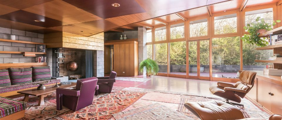 frank lloyd wright houses 5 Mid-Century Frank Lloyd Wright Houses that Can be Yours! 5 Mid Century Frank Lloyd Wright Houses that Can be Yours feat 959x410
