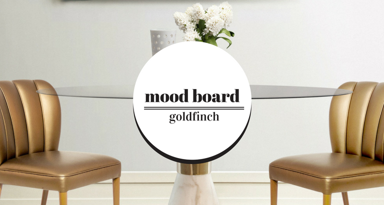 Mood Board: Using Golden Details to Get a Mid-Century Modern Look!