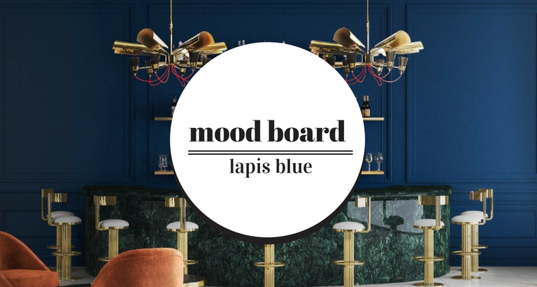 Mood Board- Using Lapis Blue on Your Mid-Century Furniture mid-century furniture Mood Board: Using Lapis Blue on Your Mid-Century Furniture Mood Board Using Lapis Blue on Your Mid Century Furniture feat 1 768x410