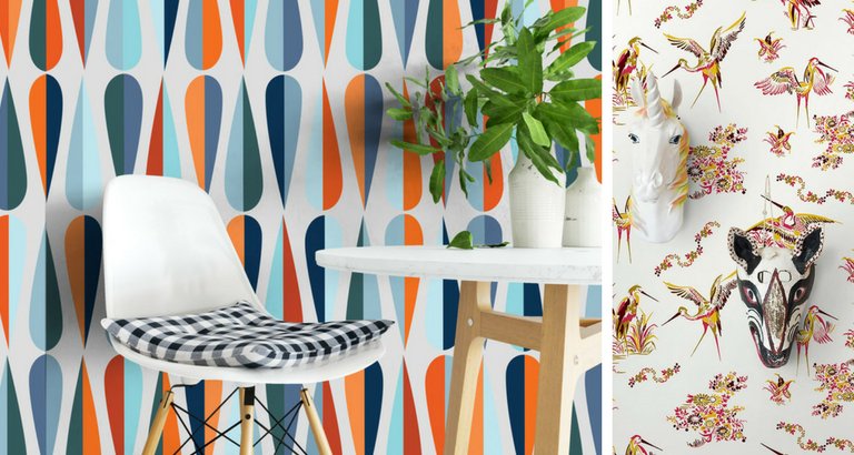 10 Mid-Century Modern Wallpaper Ideas That You Will Love! mid-century modern wallpaper 10 Mid-Century Modern Wallpaper Ideas That You Will Love! 10 Mid Century Modern Wallpaper Ideas That You Will Love feat 768x410