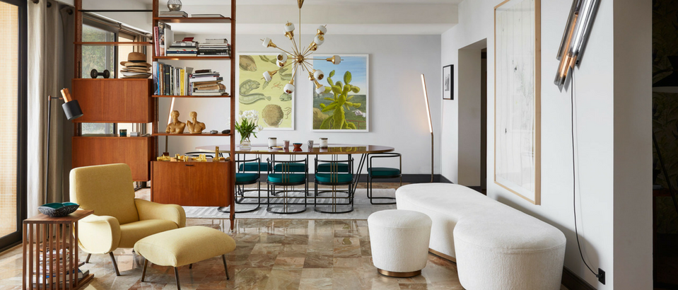 An Explosion of Mid-Century Modern Design in a Monaco Apartment mid-century modern design An Explosion of Mid-Century Modern Design in a Monaco Apartment An Explosion of Mid Century Modern Design in a Monaco Apartment feat 959x410