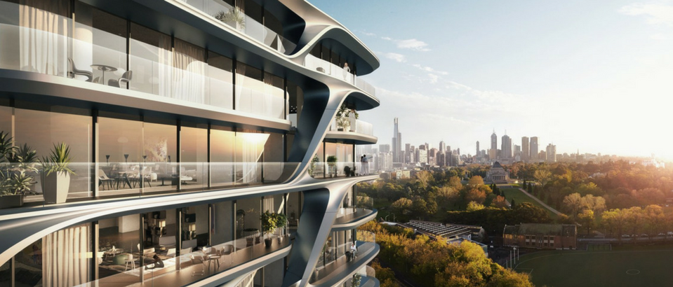 Zaha Hadid Architects Come to Redefine the Melbourne Skyline