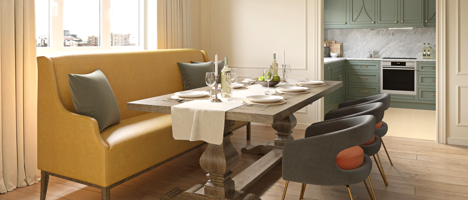 5 Reasons Why You Want This Dining Room Design by Nadya Zotova