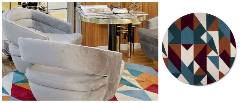 Floral and Geometric Rugs That Are Truly Instagram-Worthy_2 (1) geometric rugs Floral and Geometric Rugs That Are Truly Instagram-Worthy Floral and Geometric Rugs That Are Truly Instagram Worthy 2 1