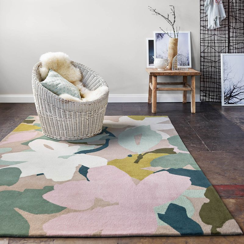 Floral-and-Geometric-Rugs-That-Are-Truly-Instagram-Worthy_7 (1) geometric rugs Floral and Geometric Rugs That Are Truly Instagram-Worthy Floral and Geometric Rugs That Are Truly Instagram Worthy 7 1