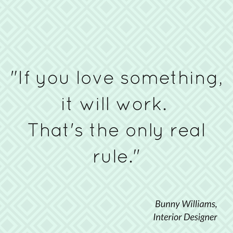 If you love something, it will work. That's the only real rule.
