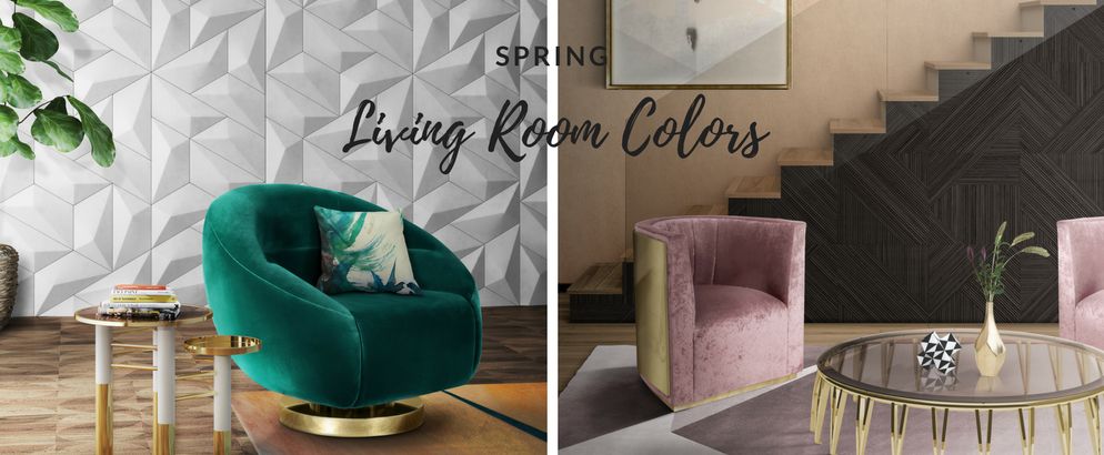 The Best Living Room Colors to Live Spring at Its Fullest