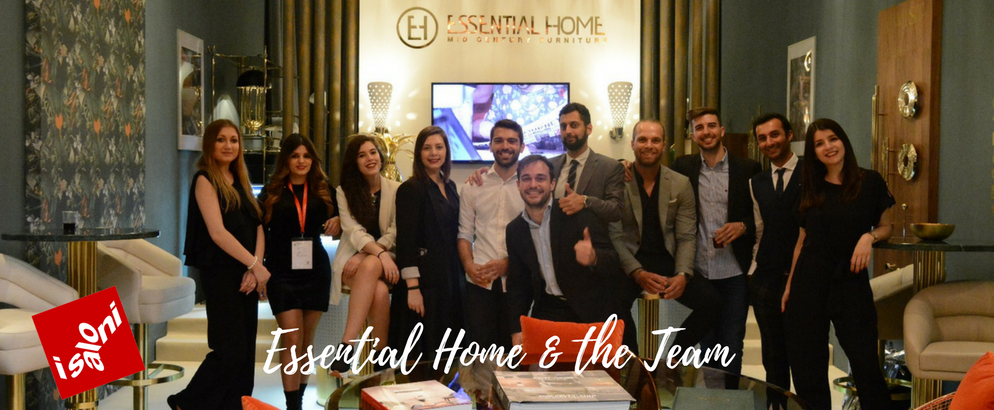 Salone del Mobile 2018 Essential Home's Stand and Its Amazing Team_feat