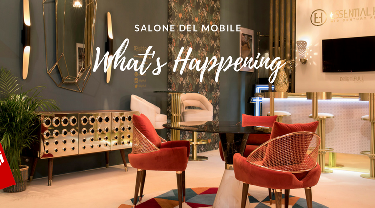 Get Those Summer Vibes With A Retro Style To Your Home salone del mobile 2018 Salone del Mobile 2018: What's Happening and What's to Come Salone del Mobile 2018 Whats Happening and Whats to Come feat 768x425