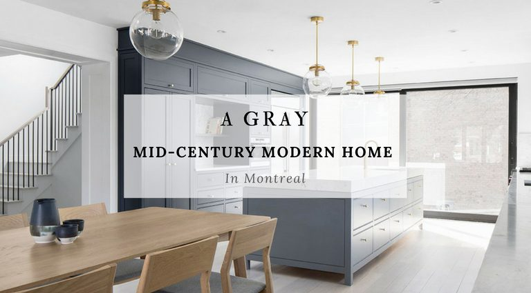 A Gray Mid-Century Modern House In Temperamental Montreal mid-century modern house A Gray Mid-Century Modern House In Temperamental Montreal A Gray Mid Century Modern House In Temperamental Montreal 1 768x425