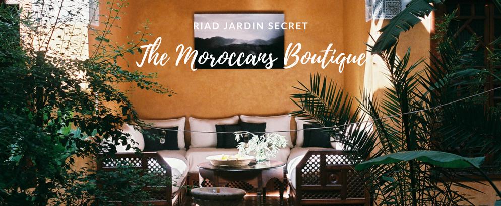 Fall in Love w Moroccan's Boutique at Riad Jardin Secret in Marrakech_1