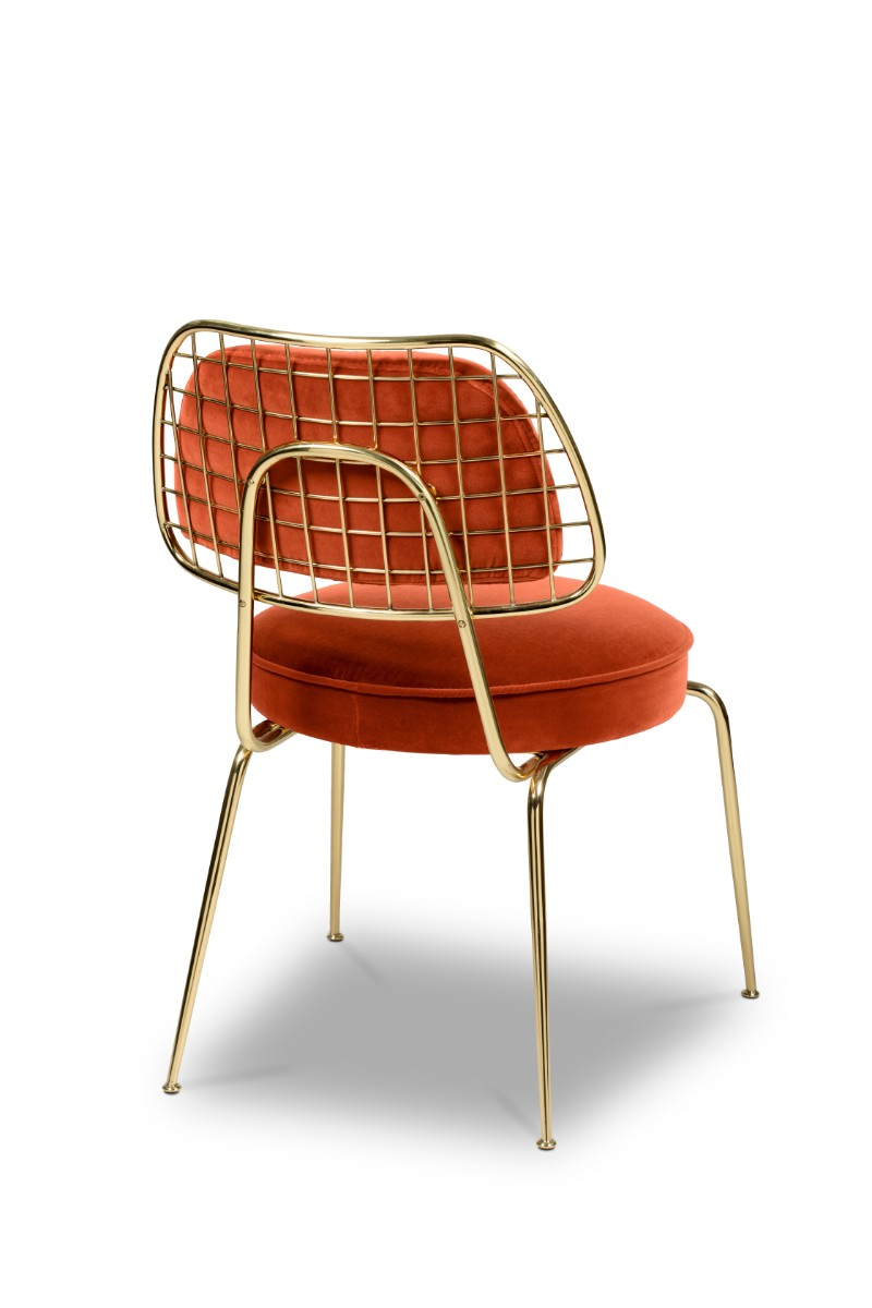 These Orange Dining Chairs Will Convince You to Go Mid-Century_1 orange dining chairs These Orange Dining Chairs Will Convince You To Go Mid-Century These Orange Dining Chairs Will Convince You to Go Mid Century 3
