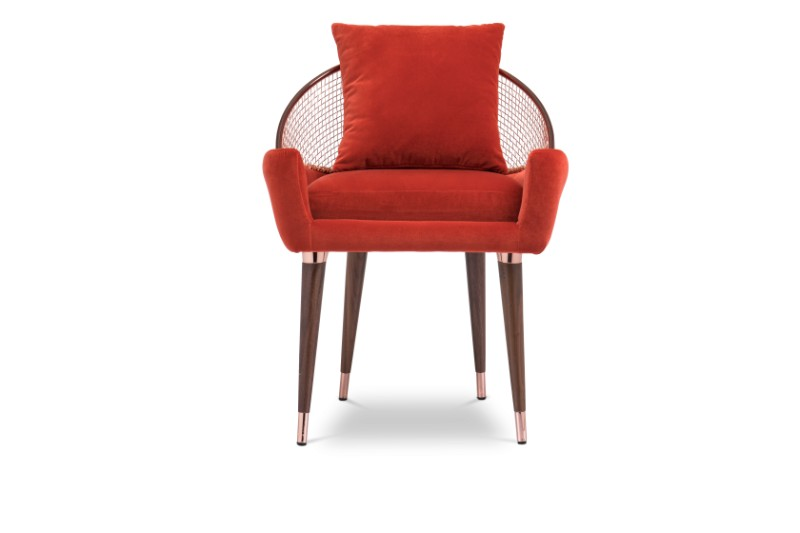 These Orange Dining Chairs Will Convince You to Go Mid-Century_4 orange dining chairs These Orange Dining Chairs Will Convince You To Go Mid-Century These Orange Dining Chairs Will Convince You to Go Mid Century 4 1