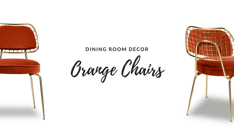 These Orange Dining Chairs Will Convince You to Go Mid-Century_feat orange dining chairs These Orange Dining Chairs Will Convince You to Go Mid-Century These Orange Dining Chairs Will Convince You to Go Mid Century feat 768x425