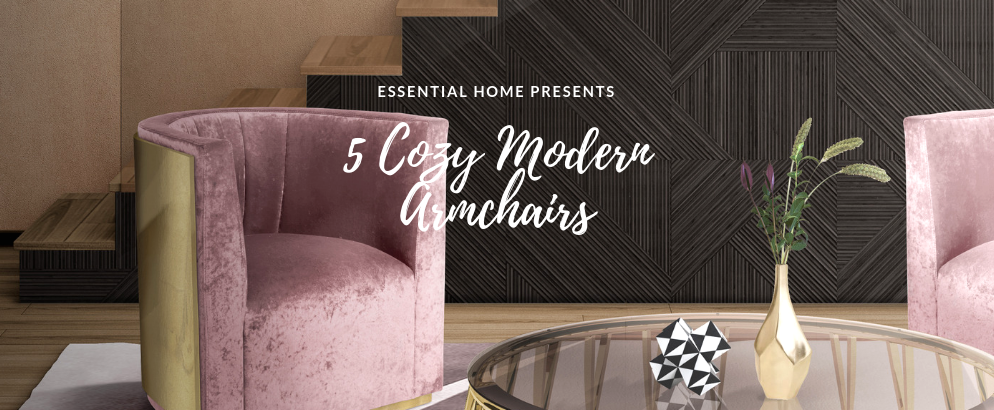 Astonishing 5 Cozy Modern Armchairs For A Magical And Comfy Winter Ibusinesslaw Wood Chair Design Ideas Ibusinesslaworg