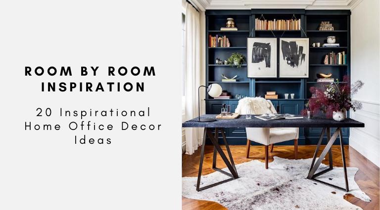 20 Inspirational Home Office Decor Ideas