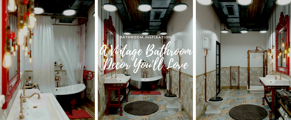 A Vintage Bathroom Decor That Will Steal Your Heart vintage bathroom decor A Vintage Bathroom Decor That Will Steal Your Heart A Vintage Bathroom Decor That Will Steal Your Heart feat 994x410