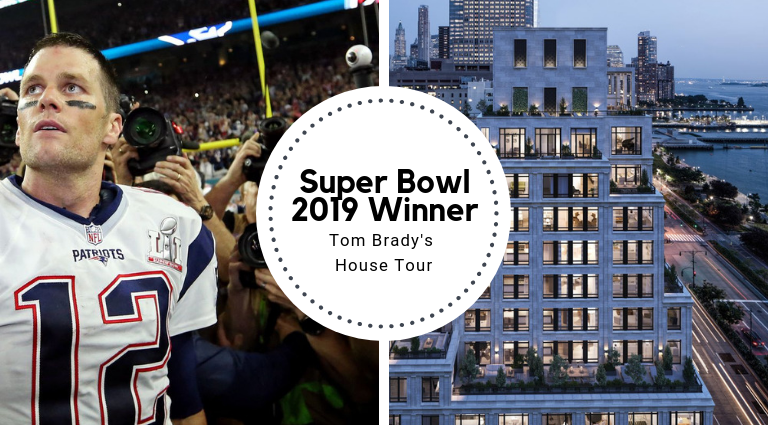 Super Bowl 2019 Winner Tom Brady's House Tour super bowl 2019 Super Bowl 2019 Winner Tom Brady's House Tour Super Bowl 2019 Winner Tom Brady   s House Tour feat 768x425
