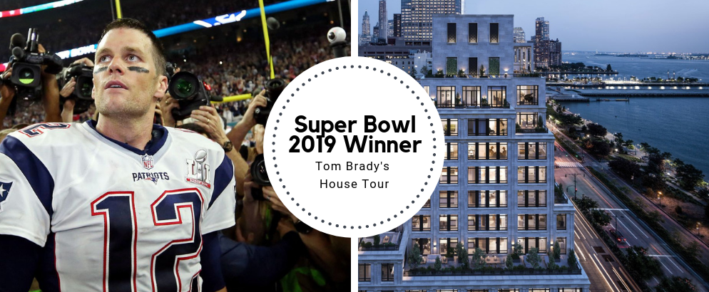 Super Bowl 2019 Winner Tom Brady's House Tour super bowl 2019 Super Bowl 2019 Winner Tom Brady's House Tour Super Bowl 2019 Winner Tom Brady   s House Tour feat 994x410