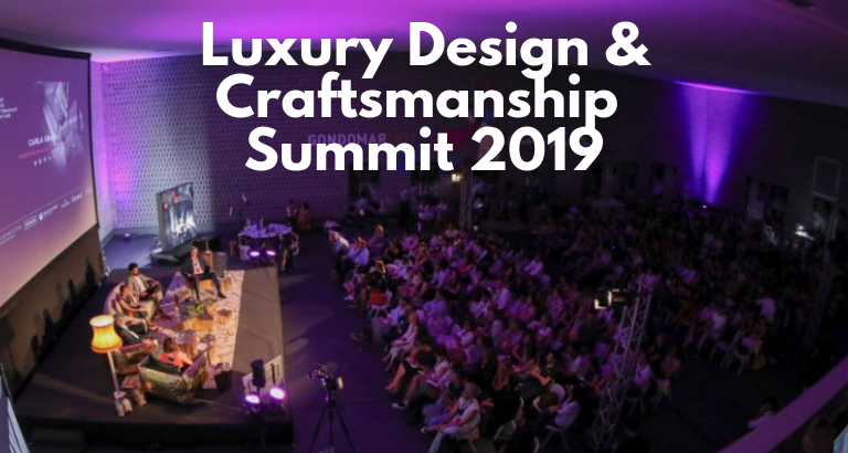 Luxury Design And Craftsmanship Summit Is Back For A 2nd Edition!_feat luxury design and craftsmanship summit Luxury Design And Craftsmanship Summit Is Back For A 2nd Edition! Luxury Design And Craftsmanship Summit Is Back For A 2nd Edition feat 768x410
