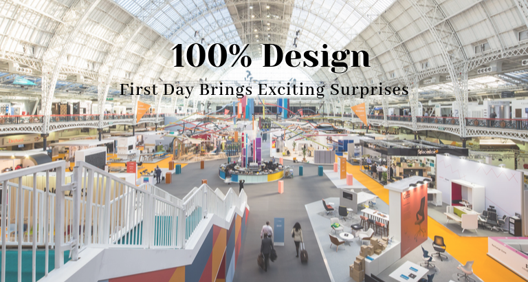 100% Design_ First Day Brings Exciting Surprises_feat