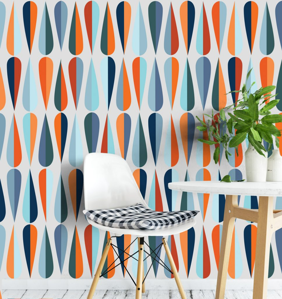 10 Mid-Century Modern Wallpaper Ideas That You Will Love!_4 mid-century modern wallpaper 10 Mid-Century Modern Wallpaper Ideas That You Will Love! 10 Mid Century Modern Wallpaper Ideas That You Will Love 4 968x1024