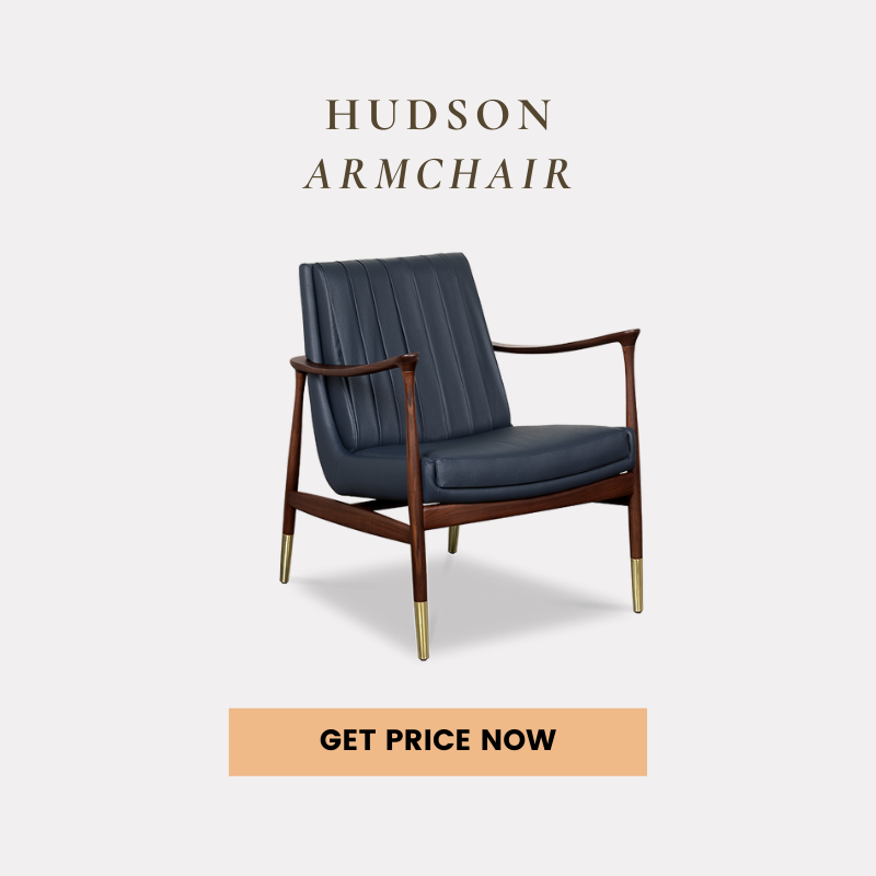 mid-century modern home office How To Create A Mid-Century Modern Home Office hudson armchair get price 1
