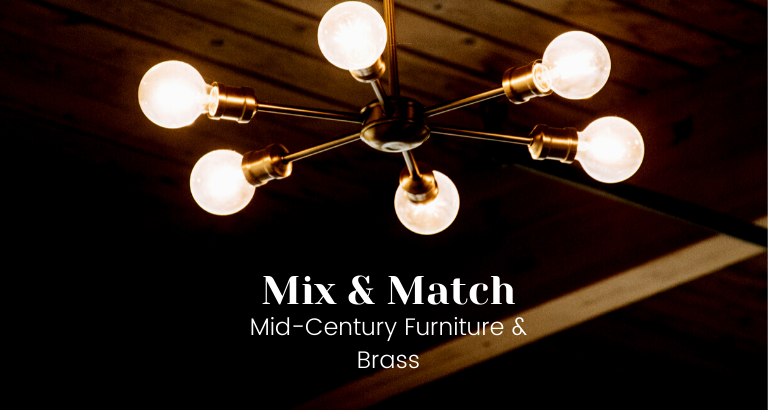 The Beauty Of Mixing Mid-Century Furniture With Brass_feat