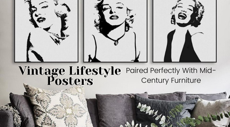 Vintage Lifestyle Posters That Pair Perfectly With Mid-Century Furniture_feat vintage lifestyle Vintage Lifestyle Posters Paired Perfectly With Mid-Century Furniture Vintage Lifestyle Posters That Pair Perfectly With Mid Century Furniture feat 768x425