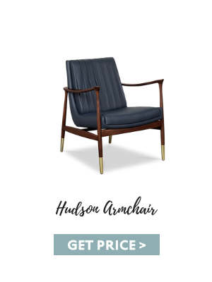 vintage lifestyle Vintage Lifestyle Posters Paired Perfectly With Mid-Century Furniture hudson armchair