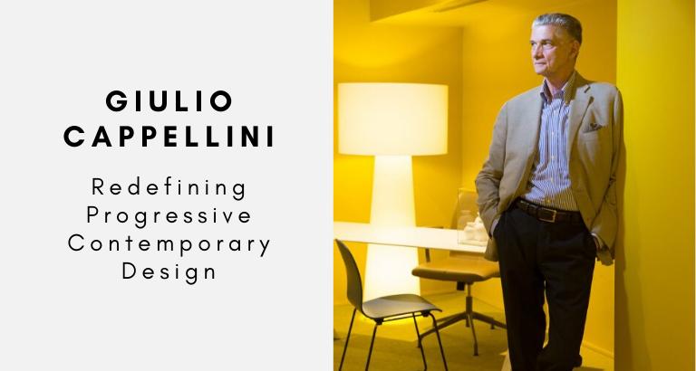Giulio Cappellini_ Redefining Progressive Contemporary Design