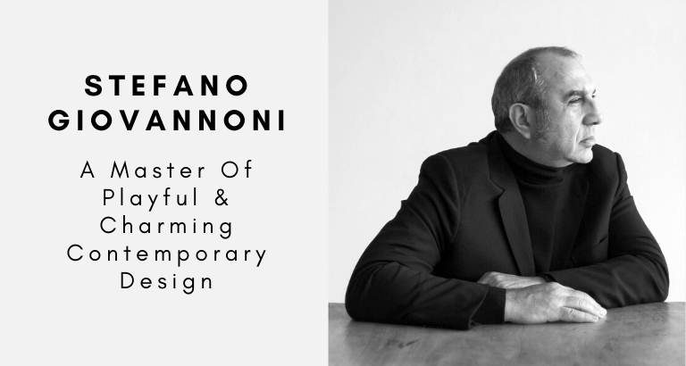 Stefano Giovannoni_ A Master Of Playful & Charming Contemporary Design_feat contemporary design Stefano Giovannoni: A Master Of Playful & Charming Contemporary Design Stefano Giovannoni  A Master Of Playful Charming Contemporary Design feat 768x410
