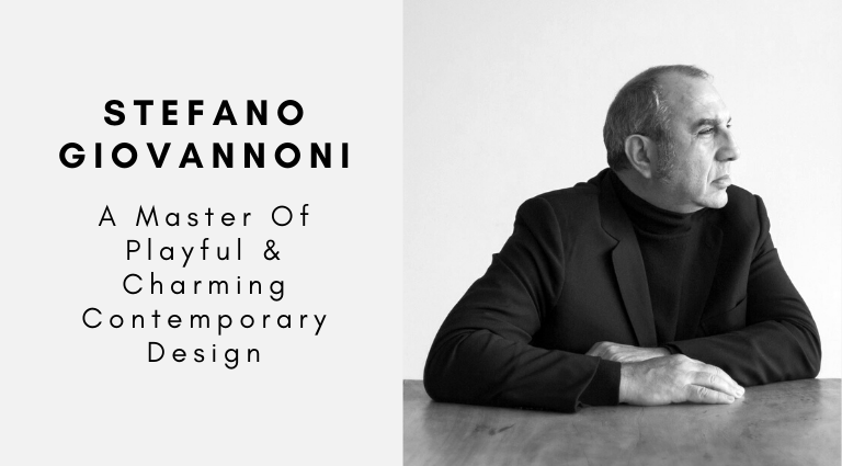 Stefano Giovannoni_ A Master Of Playful & Charming Contemporary Design_feat contemporary design Stefano Giovannoni: A Master Of Playful & Charming Contemporary Design Stefano Giovannoni  A Master Of Playful Charming Contemporary Design feat 768x425