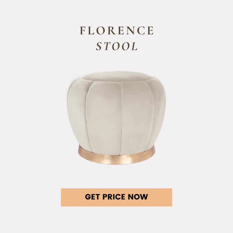 contemporary home Shop The Look: A Contemporary Home In Atlanta For All Design Lovers florence stool get price 1