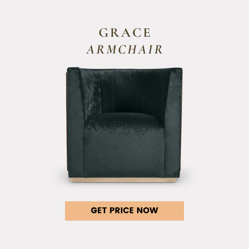contemporary home Shop The Look: A Contemporary Home In Atlanta For All Design Lovers grace armchair get price