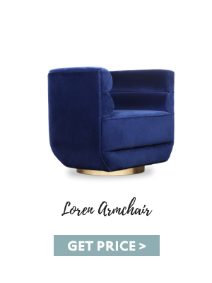 oscars 2020 Oscars 2020: Bring Red Carpet Trends Into Your Home Decor With Our Suggestions loren armchair blue