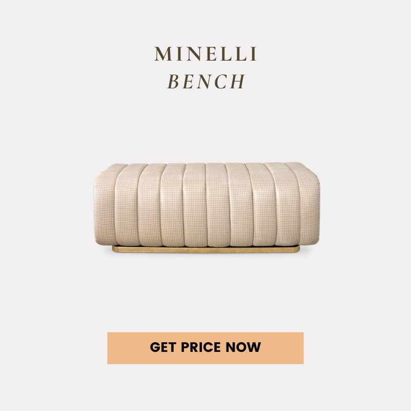 contemporary home Shop The Look: A Contemporary Home In Atlanta For All Design Lovers minelli bench get price