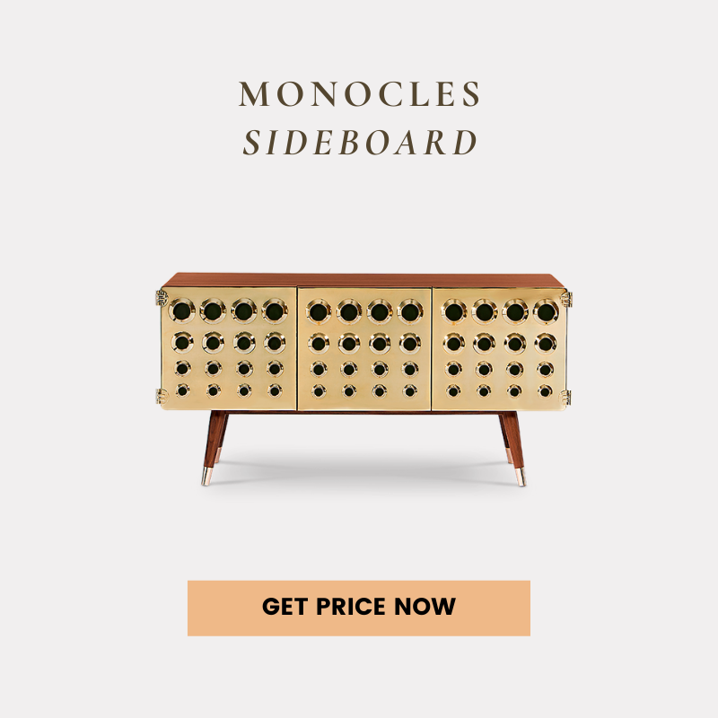 london fashion week 2020 London Fashion Week 2020: Runway Trends Brought To Your Home Decor monocles sideboard get price