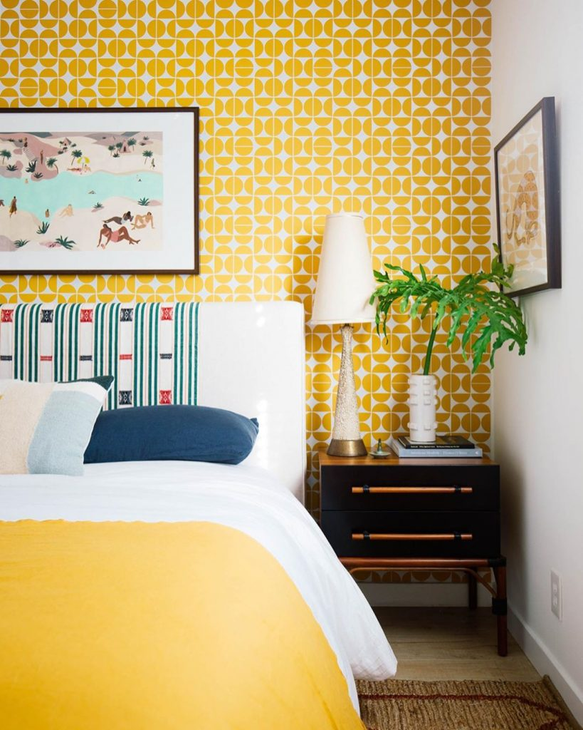 13 Yellow Bedrooms Perfect For A Happy Sunday Morning_10