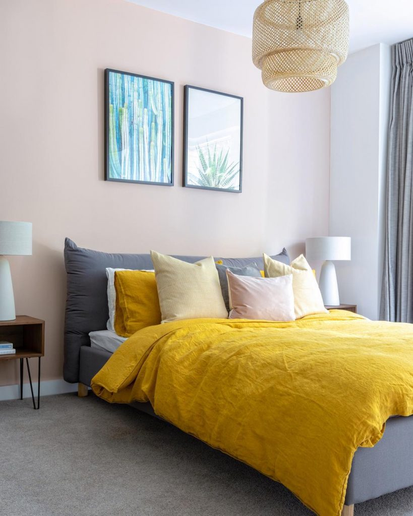 13 Yellow Bedrooms Perfect For A Happy Sunday Morning_11