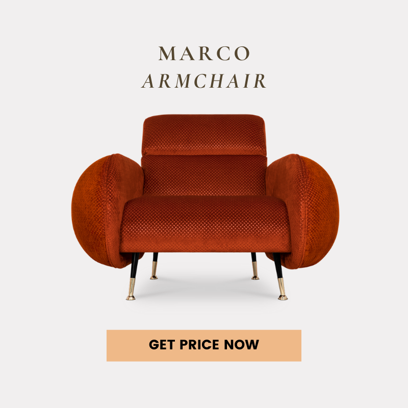 best interior design projects Our Top Best Interior Design Projects In The World marco armchair get price 1