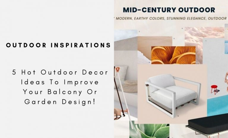 5 Hot Outdoor Decor Ideas To Improve Your Balcony Or Garden Design! outdoor decor 5 Hot Outdoor Decor Ideas To Improve Your Balcony Or Garden Design! 5 Hot Outdoor Decor Ideas To Improve Your Balcony Or Garden Design capa 768x466