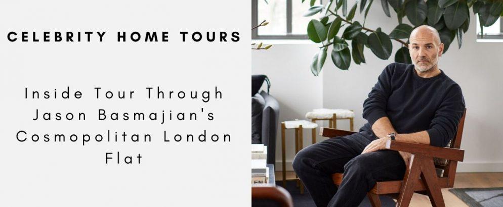 Inside Tour Through Jason Basmajian's Cosmopolitan London Flat