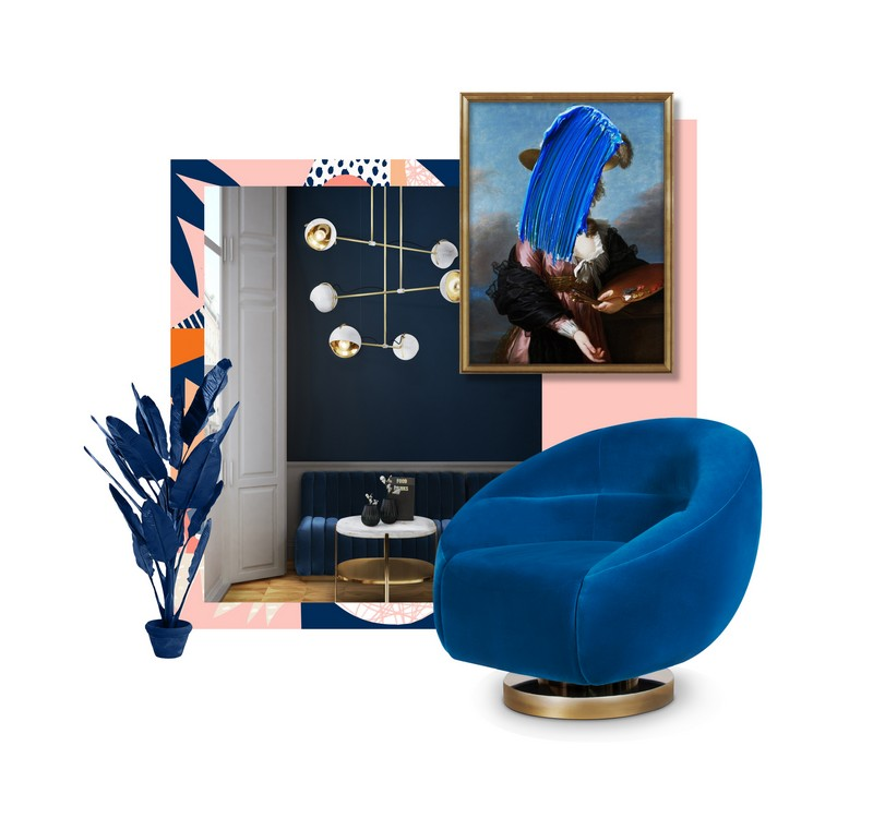 Here Is Why You Should Use Mid-Century Side Tables In Your Home Decor! mid-century side table Here Is Why You Should Use Mid-Century Side Tables In Your Home Decor! moodboard blue