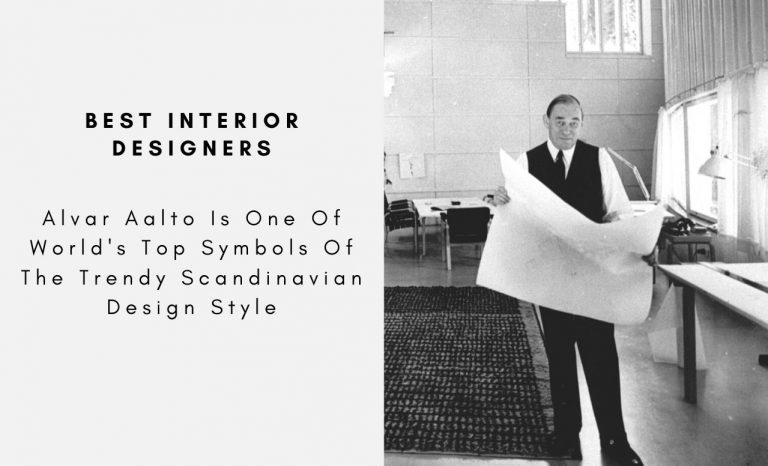 Alvar Aalto Is One Of World's Top Symbols Of The Trendy Scandinavian Design Style